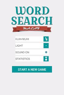 Word Search: Malay