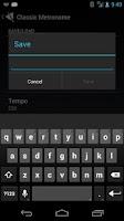Screenshot of Classic Metronome Free