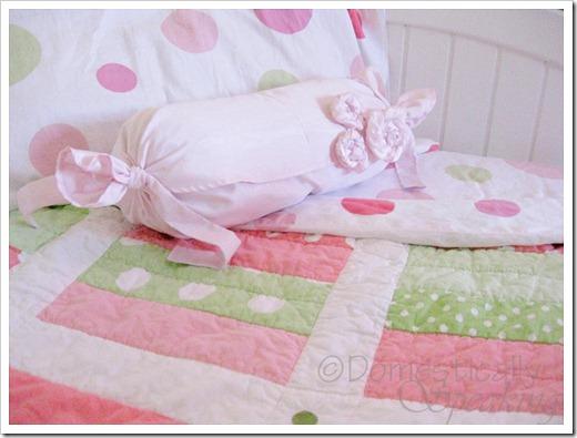Girly Silk Pillow