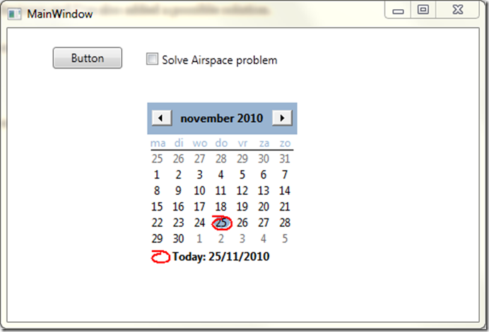 """The art of simplicity: WPF and Winforms """"airspace problem"""