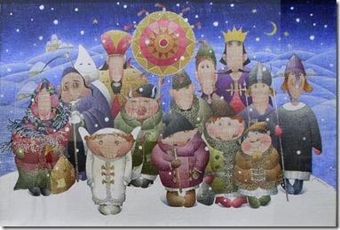 різдвяний вертеп сценарій