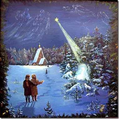 Різдвяний вертеп. Сценарій. Зоря над вертепом.
