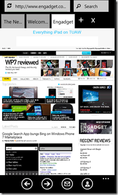 browser plus wp7