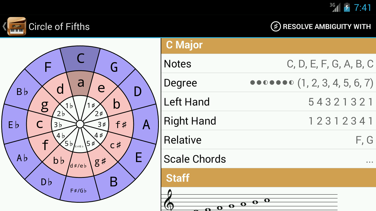 Piano Companion:Chords,Scales - screenshot