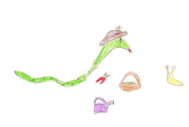 Gardener Snake (Wordless Wednesday)