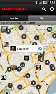 Maleforce Gay-Voice-Video Chat - screenshot thumbnail