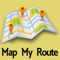 Map My Route icon