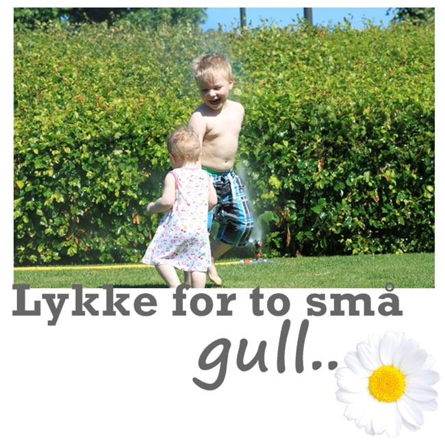 lykke for to små gull