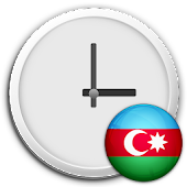 Azerbaijan Clock & RSS Widget