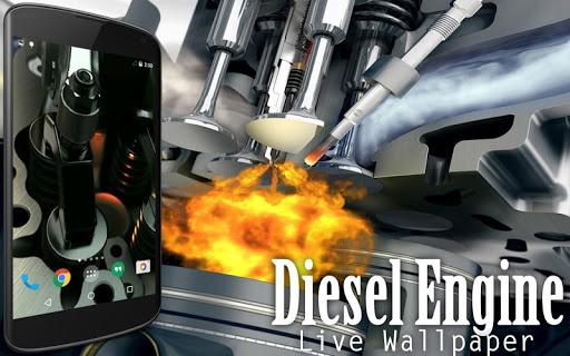 Diesel Engine Live Wallpaper