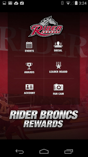 Rider Broncs Rewards