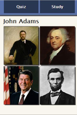US Presidential Quiz Lite