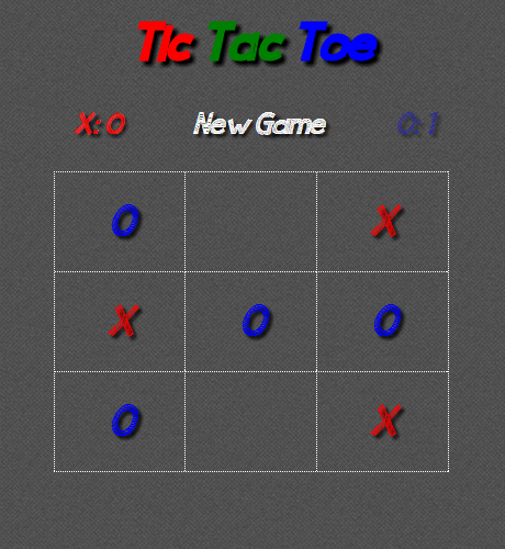 Tic Tac Toe Noughts Crosses
