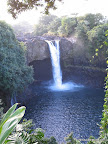 Rainbow Falls, Big Island, Hawaii