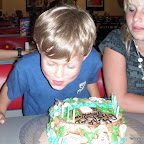 Jason's 8th Birthday Party at Chuck E. Cheese