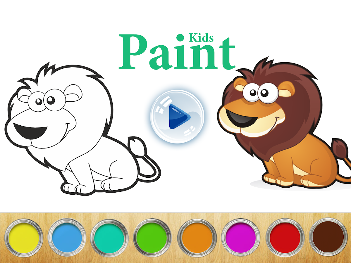 Сoloring book Kids Paint- screenshot