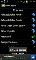 Screenshot of Free Golf GPS APP - FreeCaddie