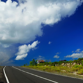 Blue Clouds by Alan Fadlansyah - Landscapes Travel ( blue sky, fadlansyah )