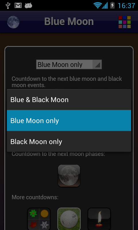 Blue Moon- screenshot