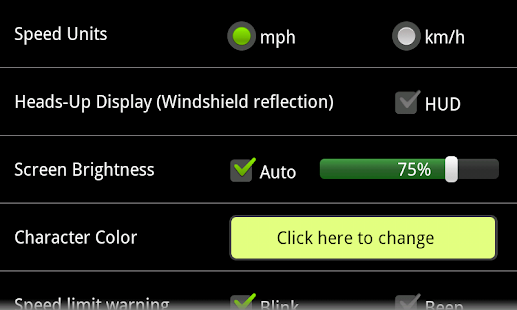 EB GPS Speedometer - screenshot thumbnail