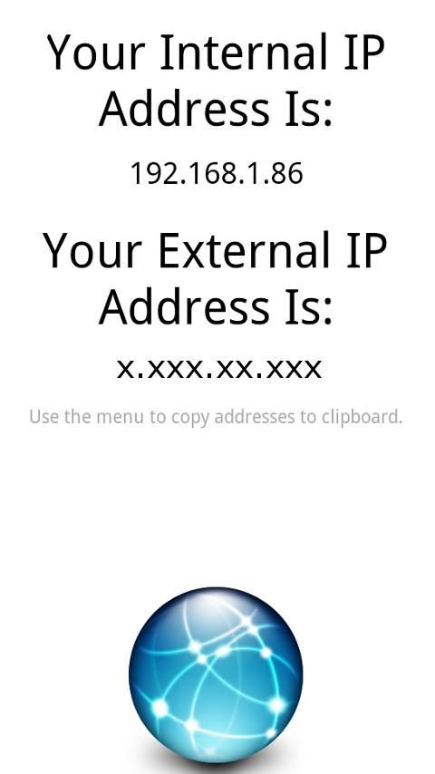 What Is My IP? - screenshot