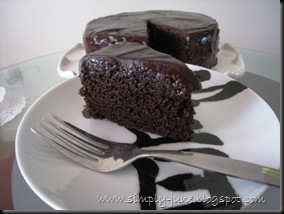 Simply June Hershey Black Magic Cake
