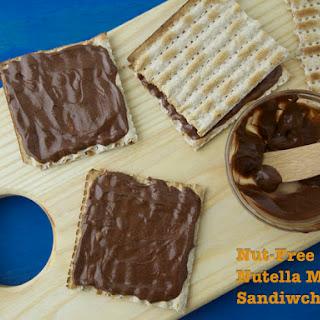 Nut-Free Nutella Matzo Sandwiches