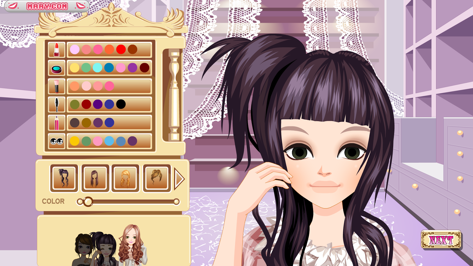 Long Hair Girls Girl Games Android Apps On Google Play - Games for hairstyle and dress up