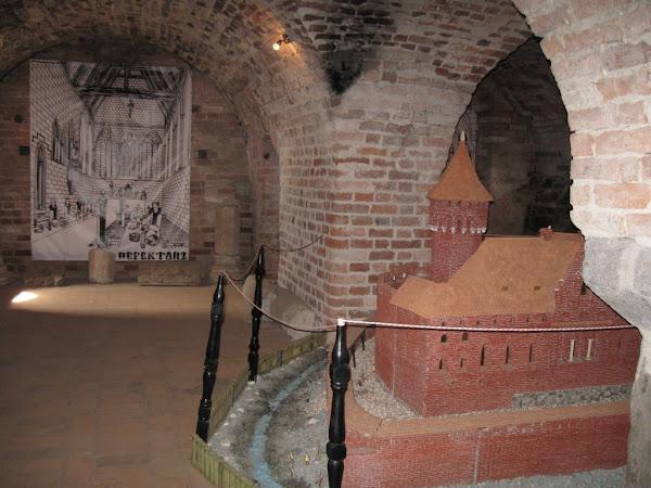 Makieta zamku krzyżackiego