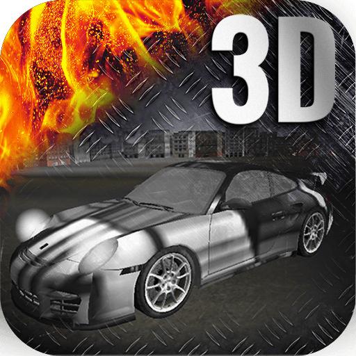 死亡飛車3D LOGO-APP點子