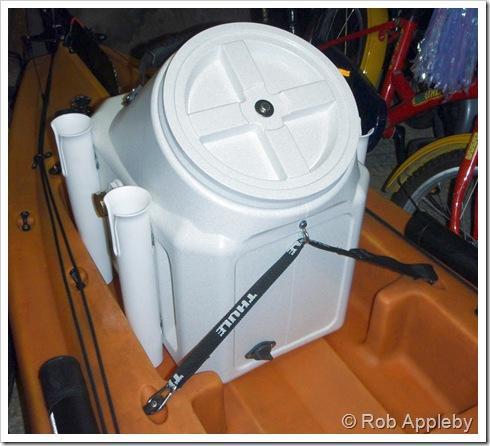 Saltwater Kayak Fisherman Kayak Live Well Amp Dry Box Part 1