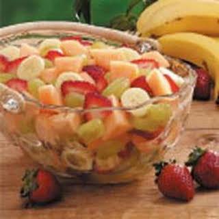 Four-Fruit Salad.
