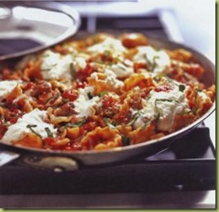 Skillet Lasagna, from The Best 30-minute Recipe