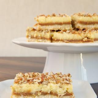 Caramel Cream Cheese Bars