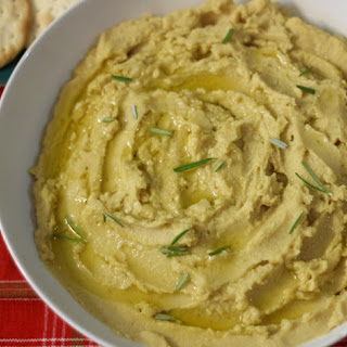 Rosemary Garlic Hummus.