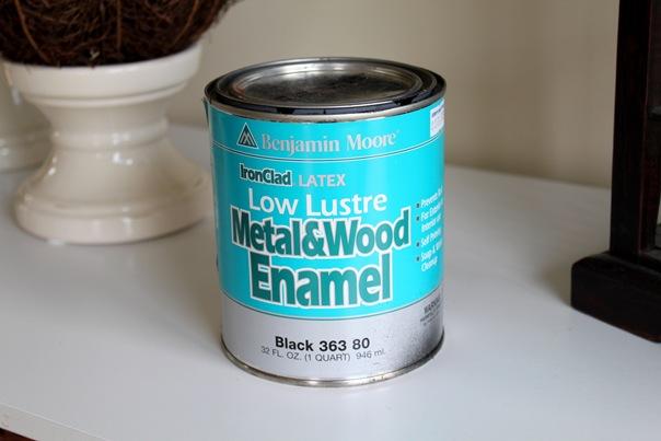本杰明·摩尔金属和木材