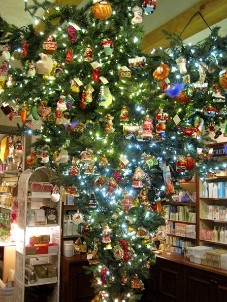 颠倒的圣诞树