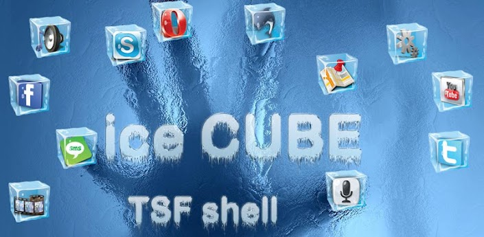 Ice Cube HD TSF Shell Theme