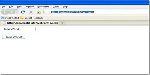 ScriptManager4.0, ASP.NET 4.0 Enhacement