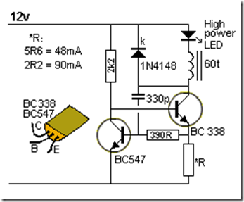 led circuits and projects blog buck converter for high. Black Bedroom Furniture Sets. Home Design Ideas