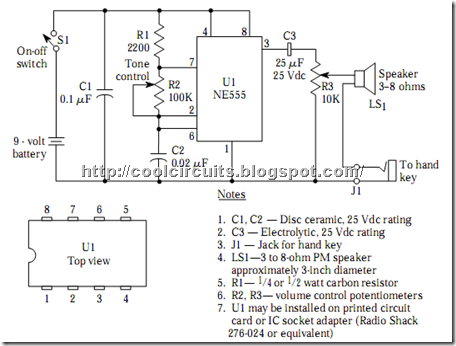 Ham Radio Code Practice Oscillators