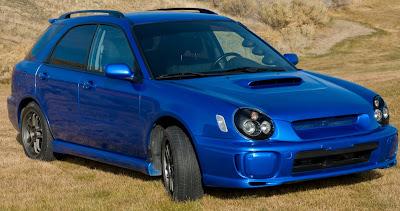 For Sale Wrx 2003 Blue Wagon W Mods