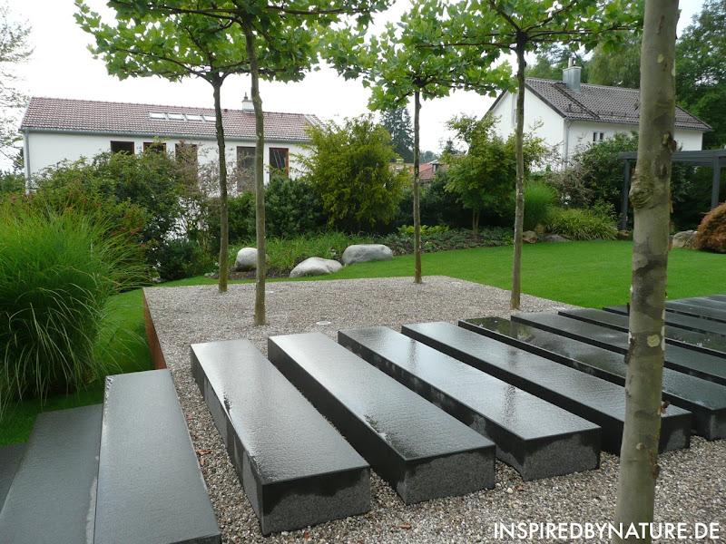 moderne g rten s d deutschland inspired by nature. Black Bedroom Furniture Sets. Home Design Ideas