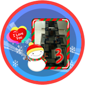Christmas Frame Widget Third