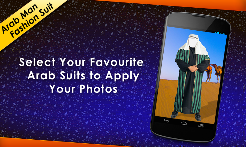 Arab Man Fashion Suit- screenshot