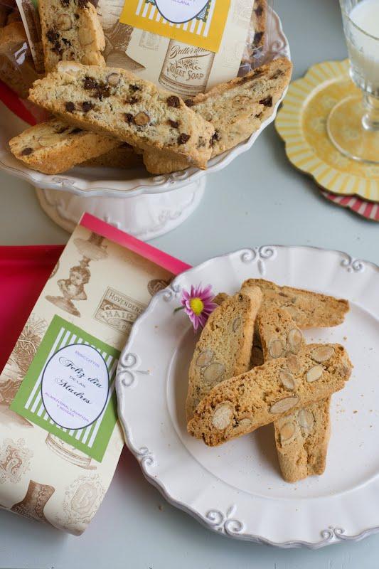 Biscottis de lavanda con almendras www.elgatogoloso.com