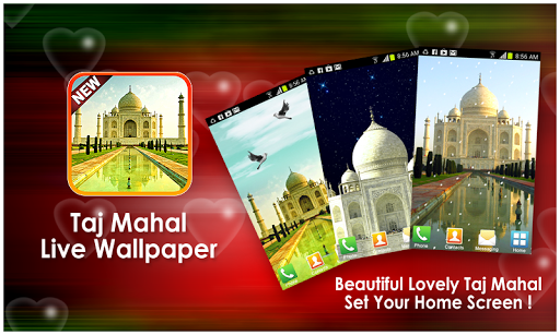 Taj Mahal Live Wallpaper