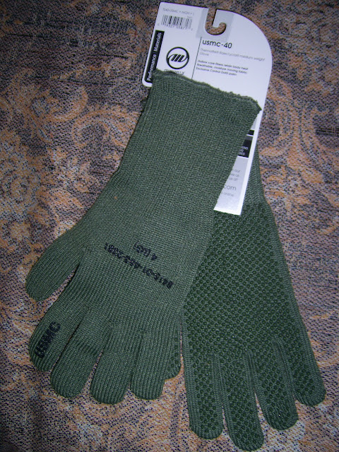 Manzella USMC TS-40 Genuine Military Gloves