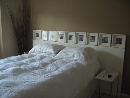 Como hacer un cabecero de cama facil y barato ideas de - Cuadros como cabeceros de cama ...