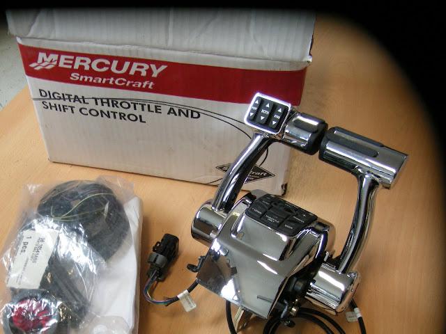 commande distance lectrique mercury smartcraft dts ebay. Black Bedroom Furniture Sets. Home Design Ideas